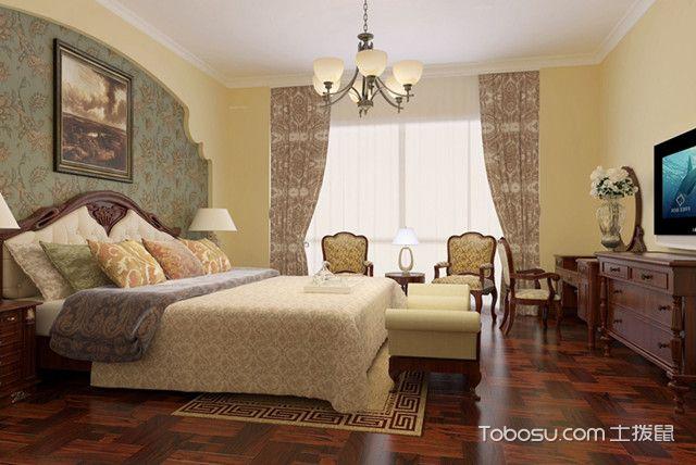 自然淡雅小夫妻卧室装修效果图
