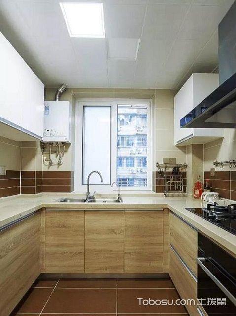 小清新风格厨房装修效果图