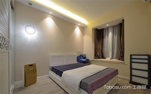 东莞100平米两室一厅新房装修价格之次卧