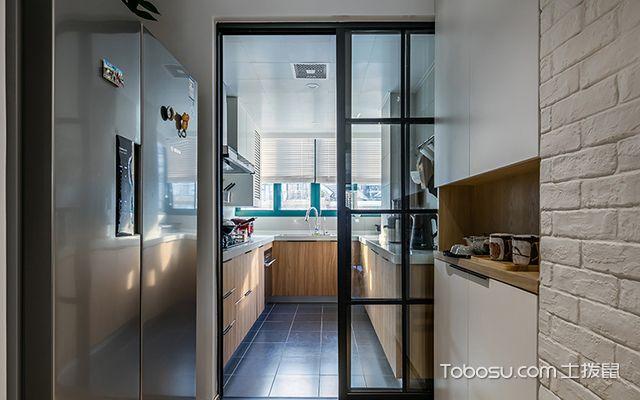 安装厨房推拉门哪种材质好玻璃推拉门