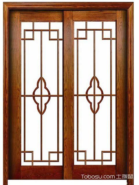 安装厨房推拉门哪种材质好实木门