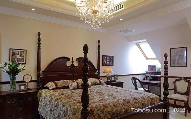 尖顶阁楼装修样板间之卧室