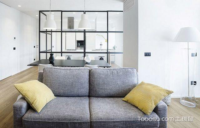 最新南通80平米简约装修效果图大全之沙发