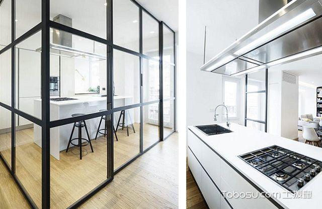 最新南通80平米简约装修效果图大全之厨房