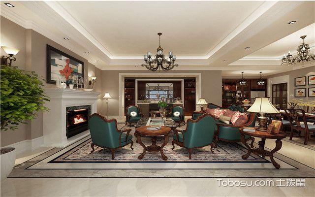 长方形客厅设计装修