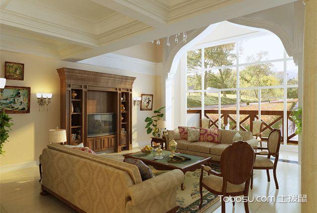 室内拱形门效果图欧式风格