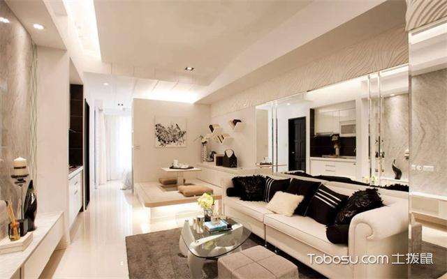 徐州60平米小户型公寓装修流程之客厅