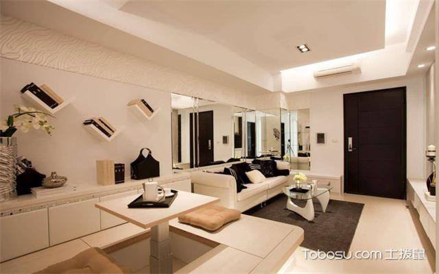 徐州60平米小户型公寓装修流程之餐厅