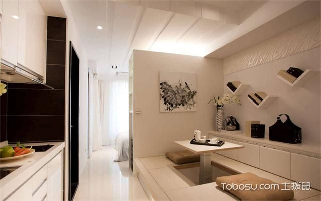 徐州60平米小户型公寓装修流程之厨房