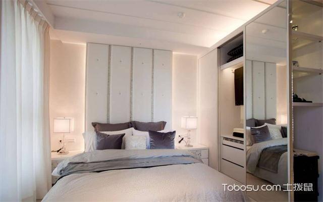 徐州60平米小户型公寓装修流程之床头灯