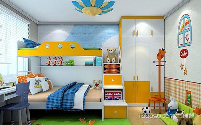 装修儿童房必看六大注意事项色彩搭配