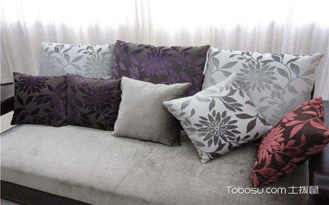 沙发靠垫抱枕选购技巧之尺寸