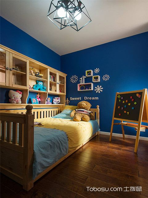 80平二居室装修儿童房