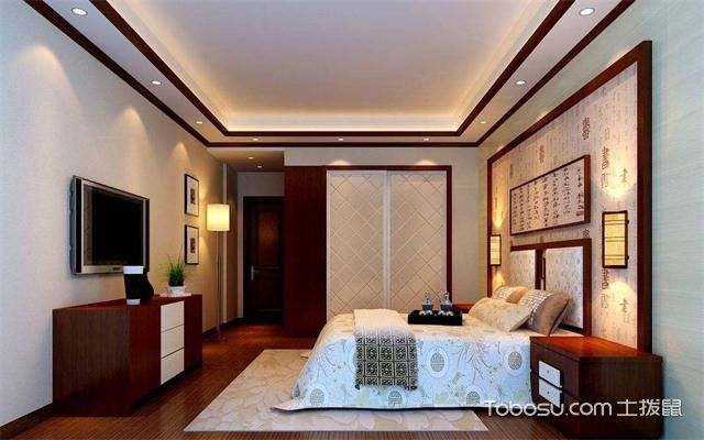 中式风格卧室门装修风水与禁忌之电视
