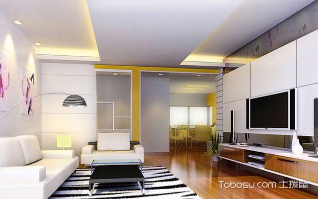 2017大户型客厅布艺沙发摆放效果图 现代