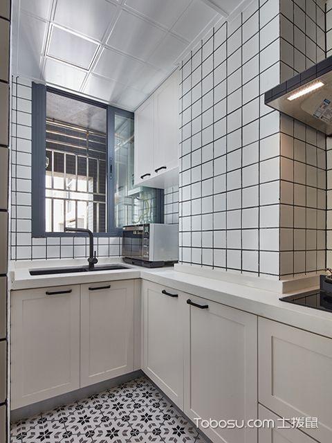 成都80平三房两厅装修之厨房