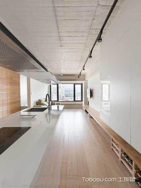 40平米一室一厅loft装修预算 玄关