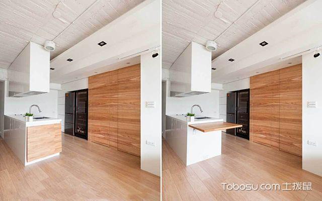 40平米一室一厅loft装修预算 厨房