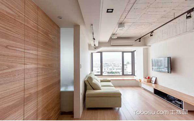 40平米一室一厅loft装修预算 客厅
