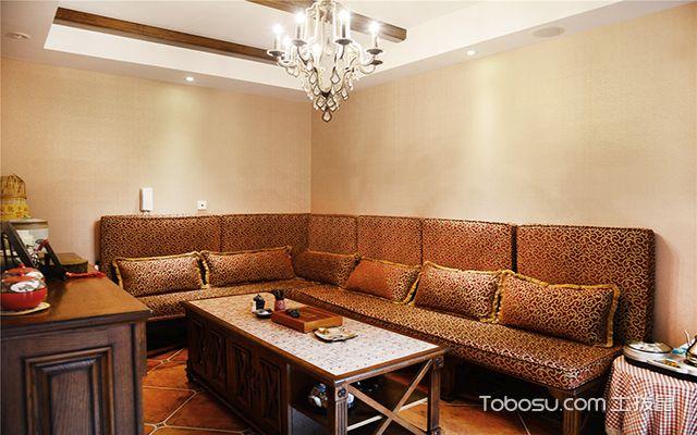 别墅客厅沙发背景墙风水禁忌 装饰物
