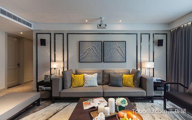 别墅客厅沙发背景墙风水禁忌 色彩