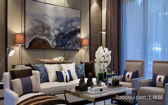 别墅客厅沙发背景墙风水禁忌 壁画