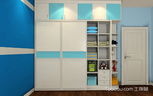 家用儿童衣柜尺寸是多大之尺寸二