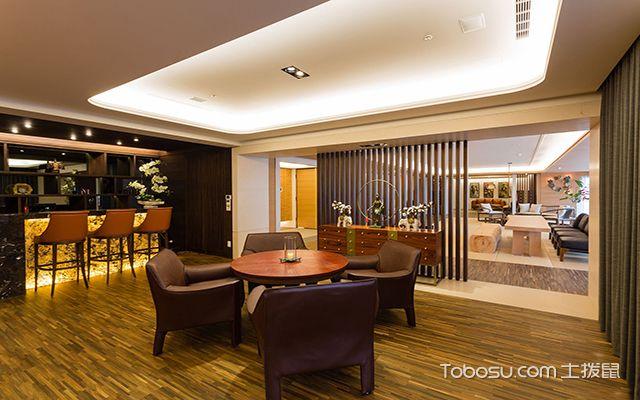 沈阳220平米大平层装修效果图 餐厅