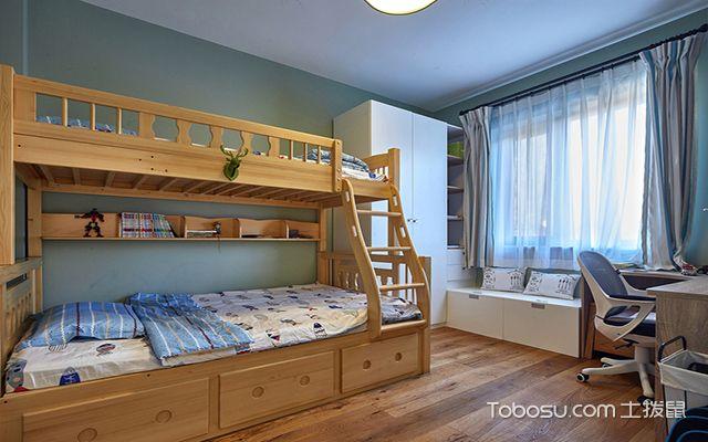 2017最新小户型儿童房实用上下床 现代风