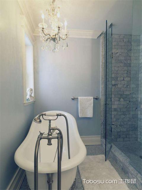 小户型浴室灯装修效果图之烛台吊灯
