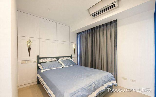 80平米美式小两房装修效果图 次卧