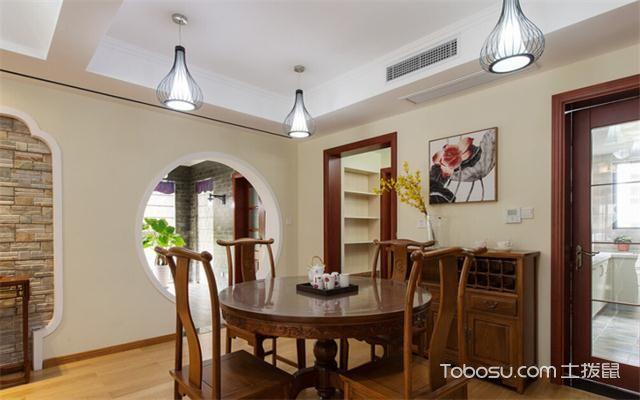 宁波房子装修中式风格预算之餐厅