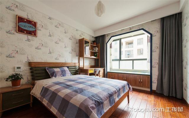 宁波房子装修中式风格预算之卧室