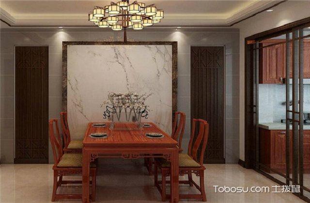 大户型中式家庭餐厅风水与禁忌之装饰