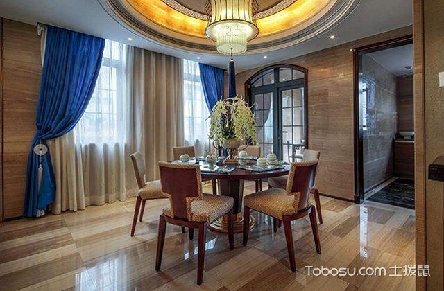大户型中式家庭餐厅风水与禁忌之摆设
