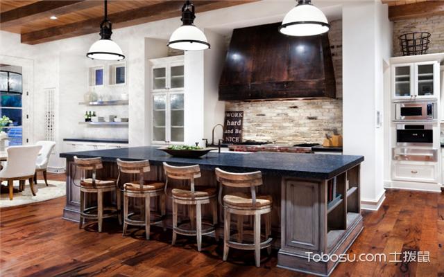 开放式厨房吧台设计注意事项