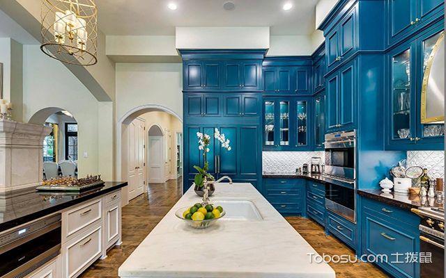厨房收纳原则之空间最大化利用原则