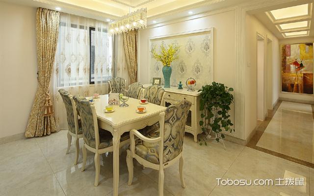 杭州房子装修欧式风格预算之餐厅