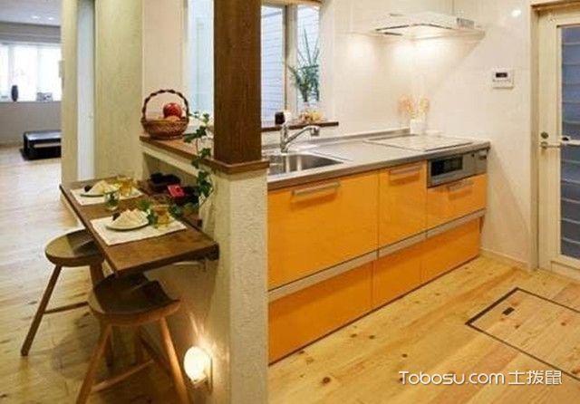 62平日式混搭装修图厨房