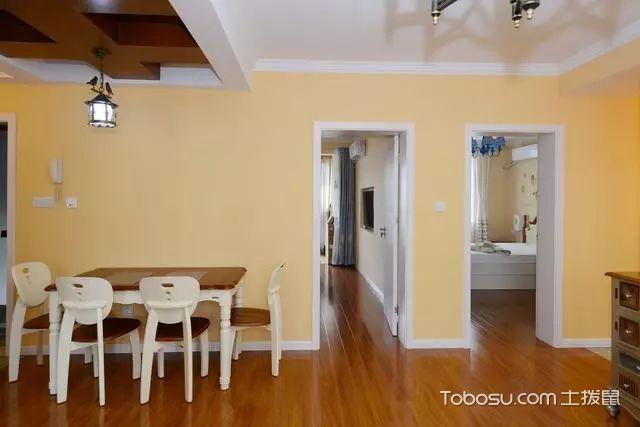 82平两室一厅装修图餐厅