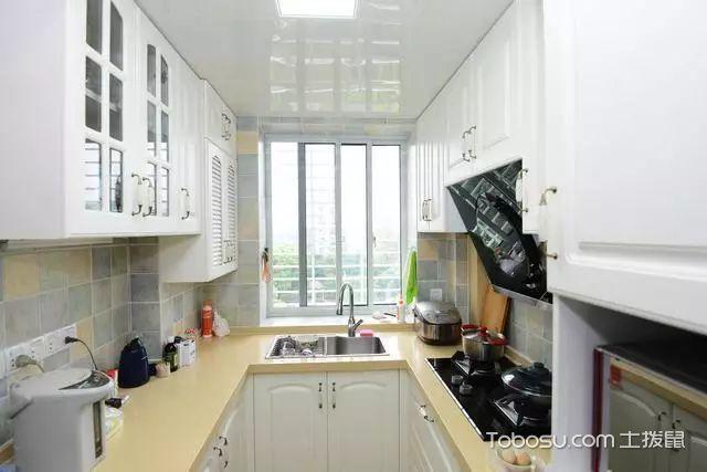 82平两室一厅装修图厨房