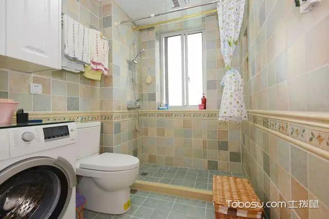 82平两室一厅装修图卫生间