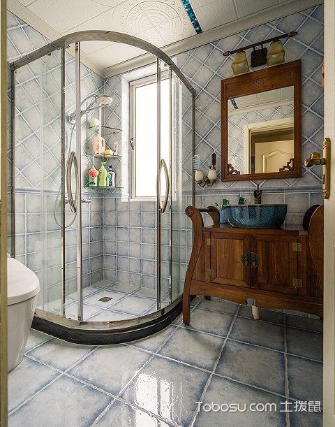 2017大户型主卫浴室装修效果图之颜色