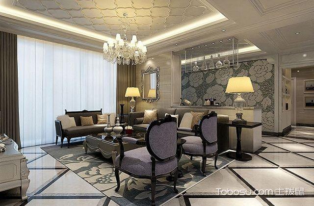 欧式客厅地砖装修流程之找平