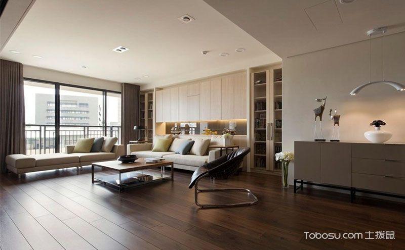 布局完美舒适居家110平米现代小户型装修效果图