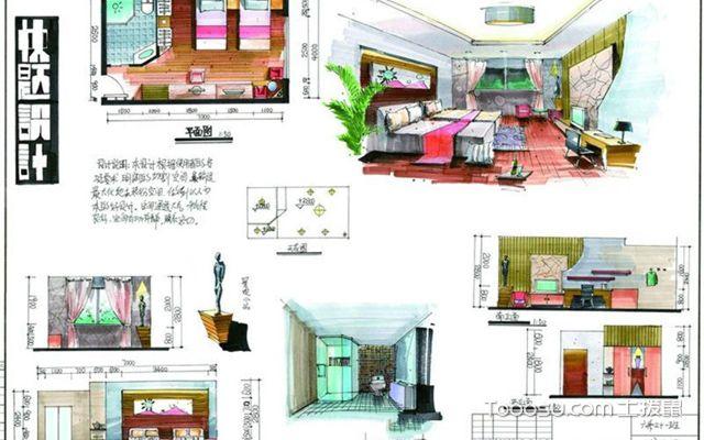 快题设计室内,室内设计快题方法和技巧图片