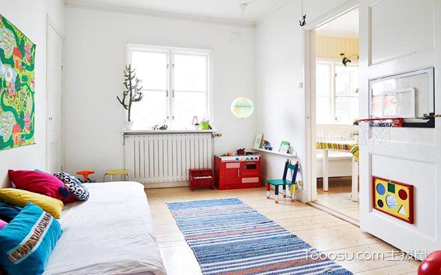 80平米北欧二居室装修 儿童房