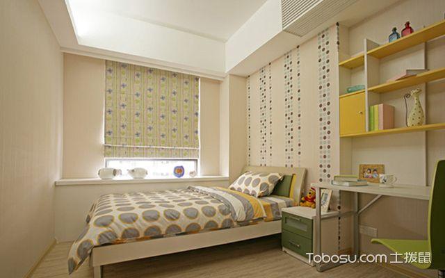 最新墙面贴壁纸的优缺点—卧室