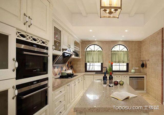 140平复式四居室装修厨房