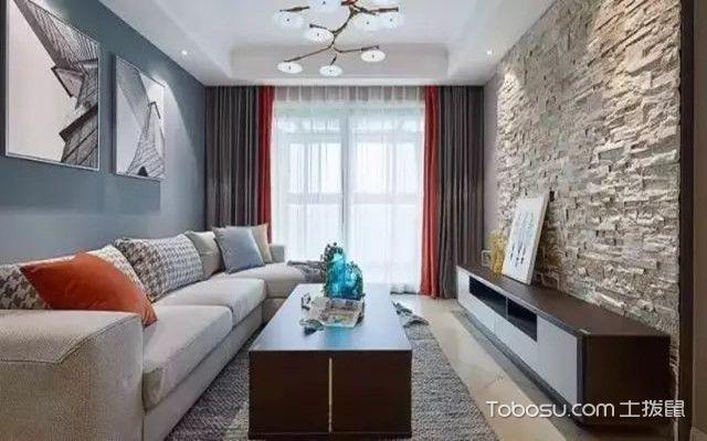 89平现代美式装修图客厅